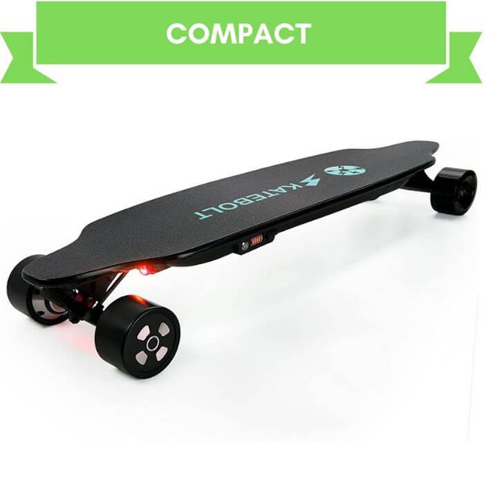 SKATEBOLT Best Motorized Longboard with Remote Controller