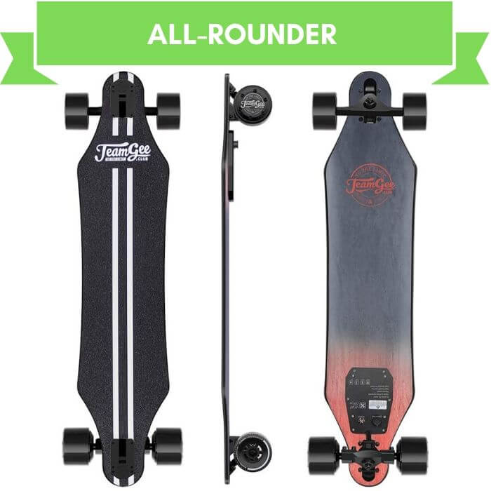 "Teamgee H5 37"" best all rounder electric longboard"