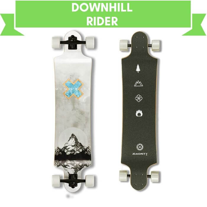 Minority Downhill Maple Deck Longboard For Learner