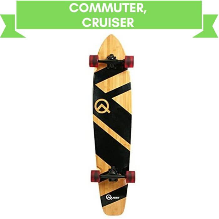 Quest Super Cruiser Artisan Surfboard Best for Commuter