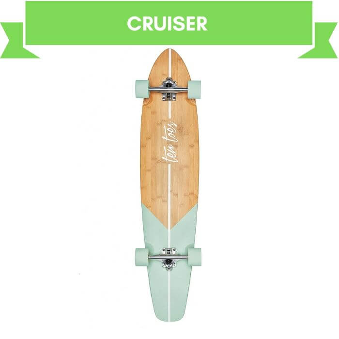 Retrospec Zed Bamboo Cruiser Longboard For Beginners
