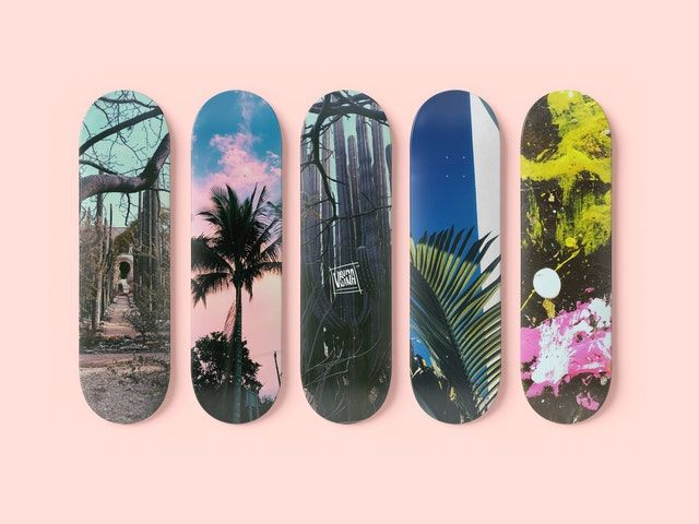 skateboard sizes