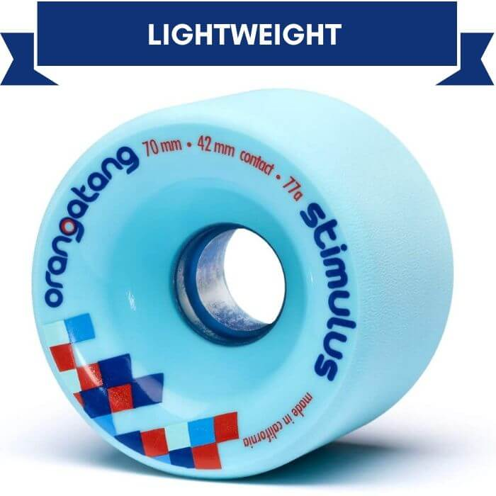 Orangatang Stimulus best Freeride Wheels for skateboard