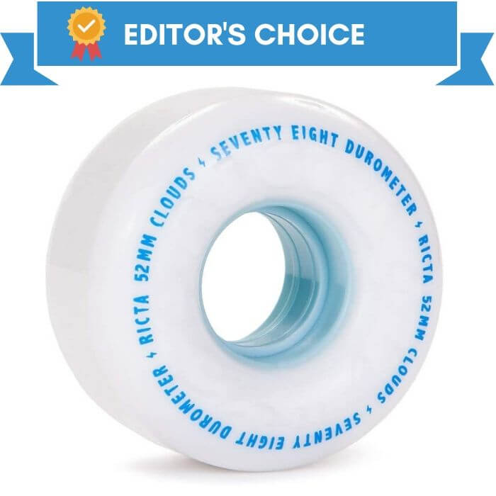Ricta Clouds 78A Skate Wheels best pick for rough surface