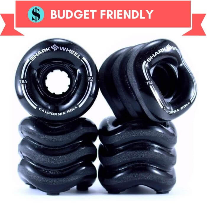 Shark California Roll Skateboard Wheel for Bad Surface